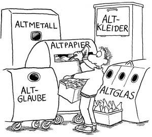 """Bild Bitte den Müll trennen: Werner """"Tiki"""" Küstenmachers """"MultiMäh!dia-CD - 300 ClipArts für alle Lebenslagen"""" (R. Brockhaus Software Edition)"""