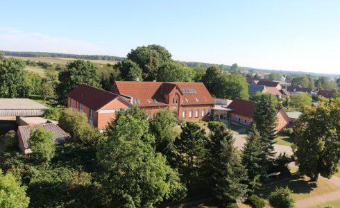 Erlebnishaus Altmark (vom Kirchturm aus fotographiert) (Foto: Josefine Zander)