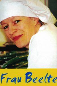 Frau Beelte (Hauswirtschaftsleitung Küche)