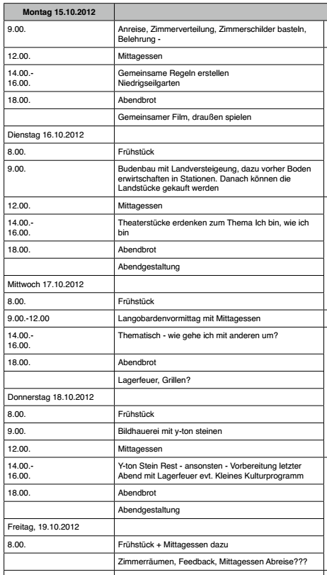 Ganztagsschule Stendal 2012