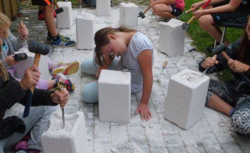 Erlebnis Bildhauerei (Foto: Birgit Molin)