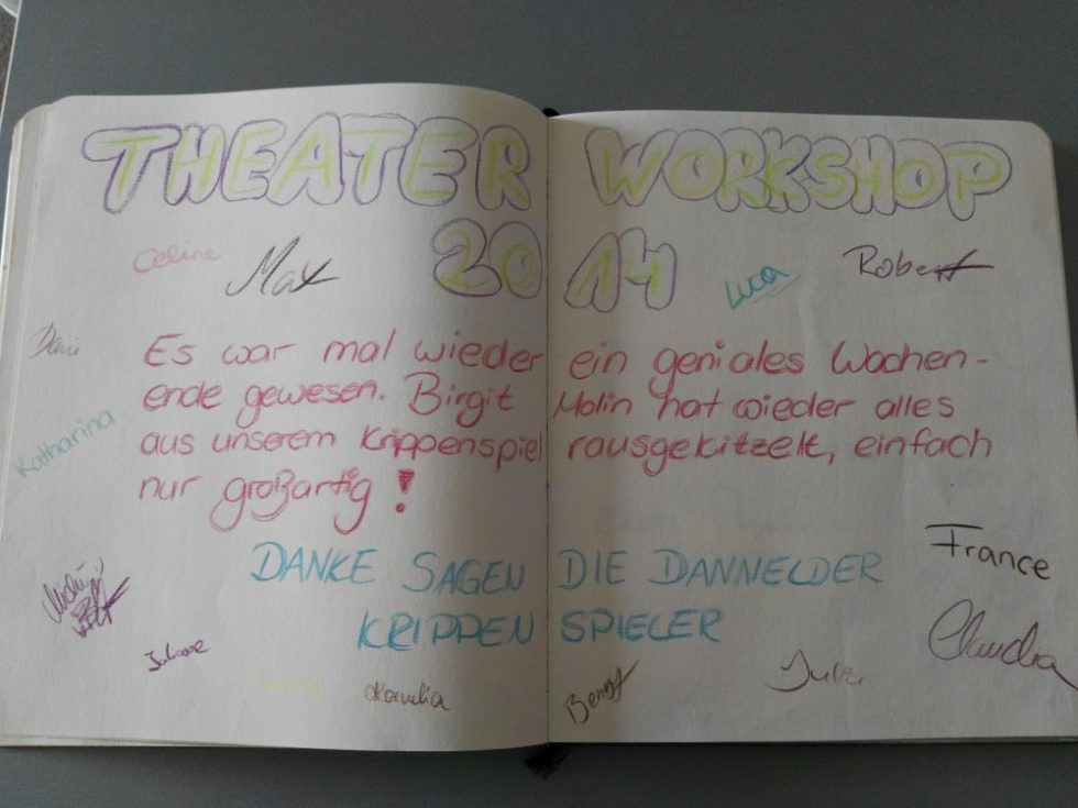 Theater WorkShop 2014