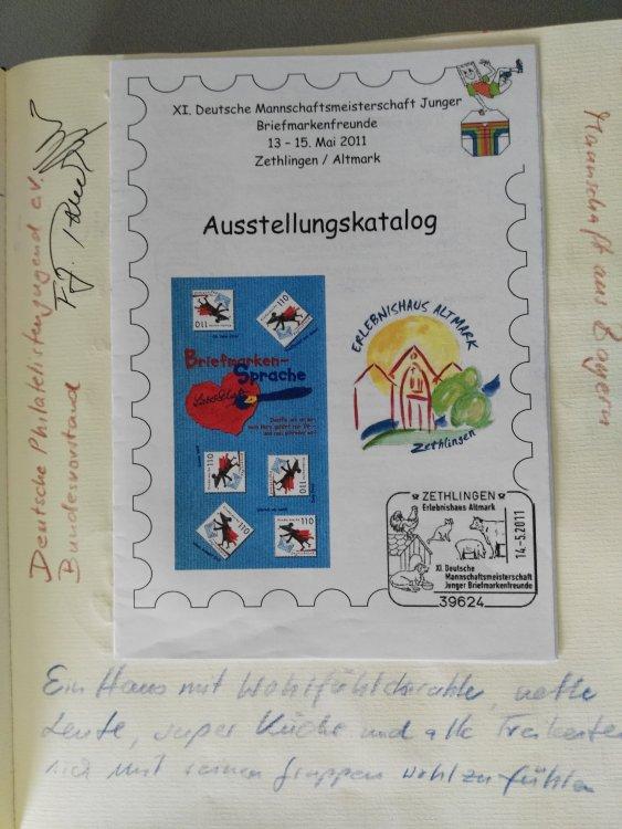 XI. Deutsche Mannschaftsmeisterschaft Junger Briefmarkenfreunde