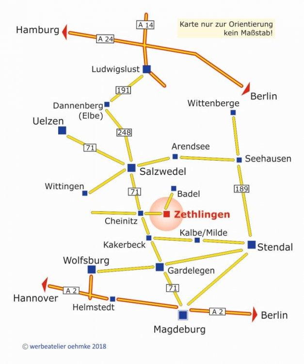 Anreise - Lageplan