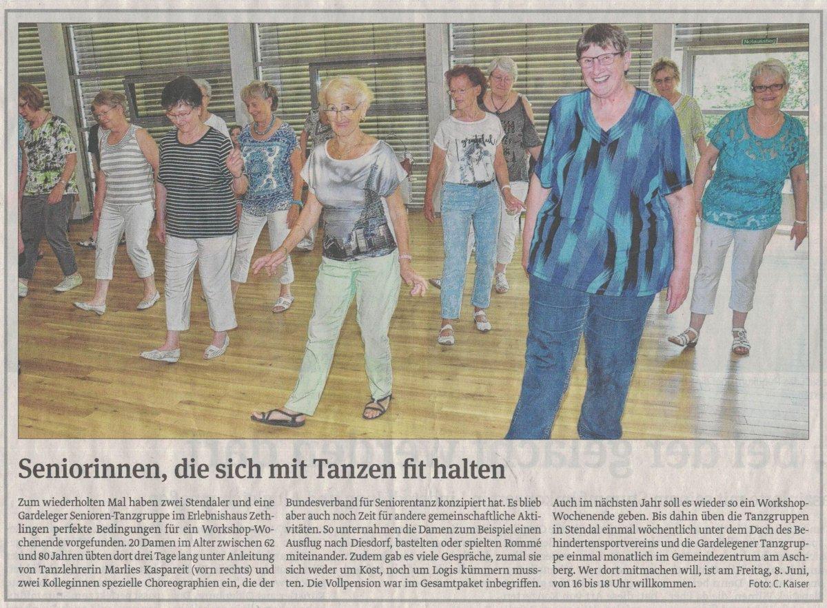 Senioren-Tanz (Volksstimme, 29.05.18)