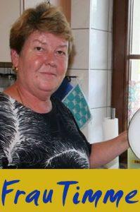 Frau Timme (Pädagogische Mitarbeiterin + Küchen-Team)