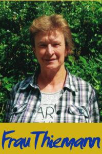 Frau Thiemann (Grünpflege)